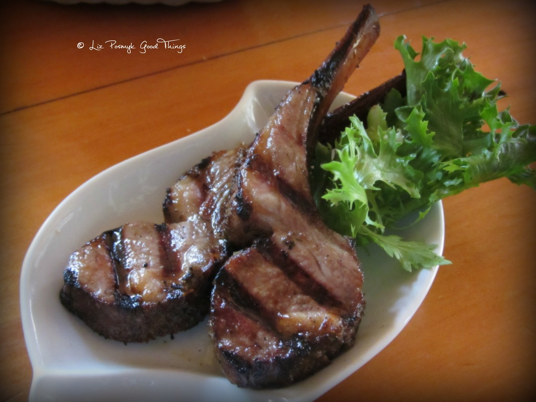 Tim's smoked lamb cutlets - Crowes Restaurant Gundaroo