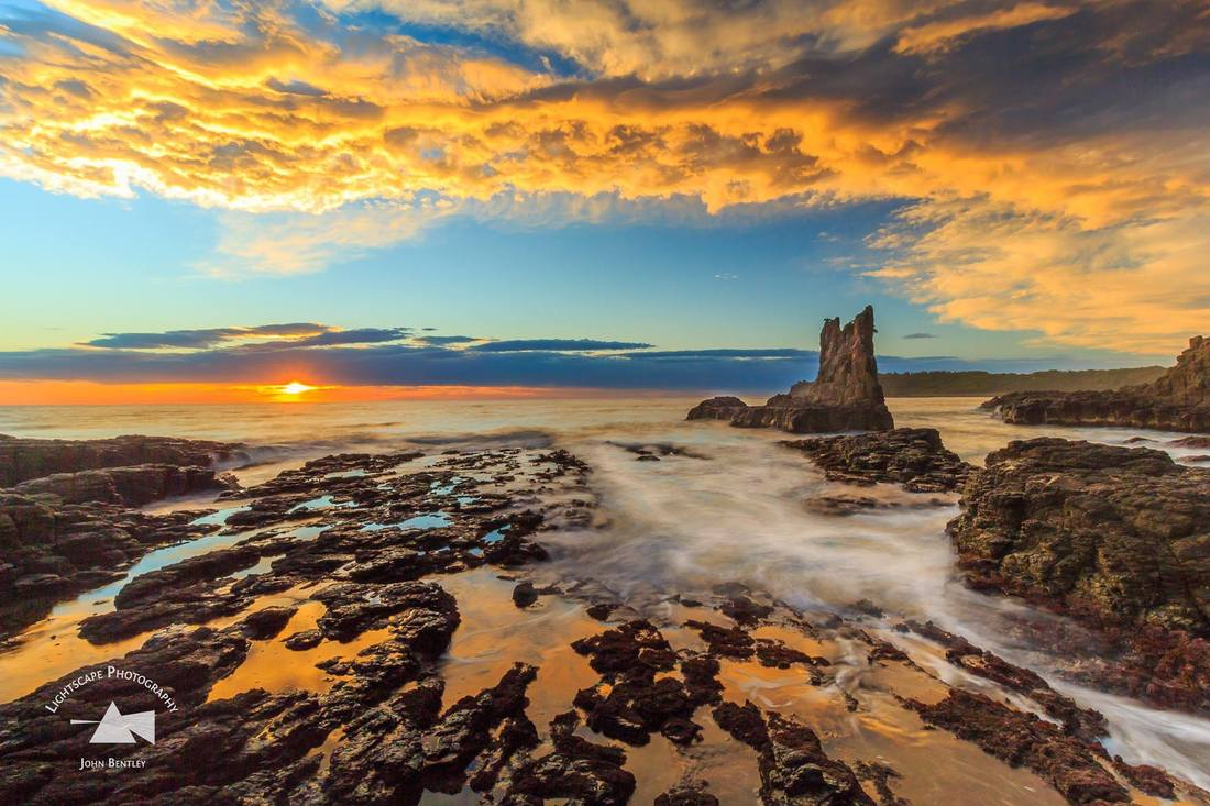 Photo of Cathedral Rocks Kiama by JB Lightscape Photography