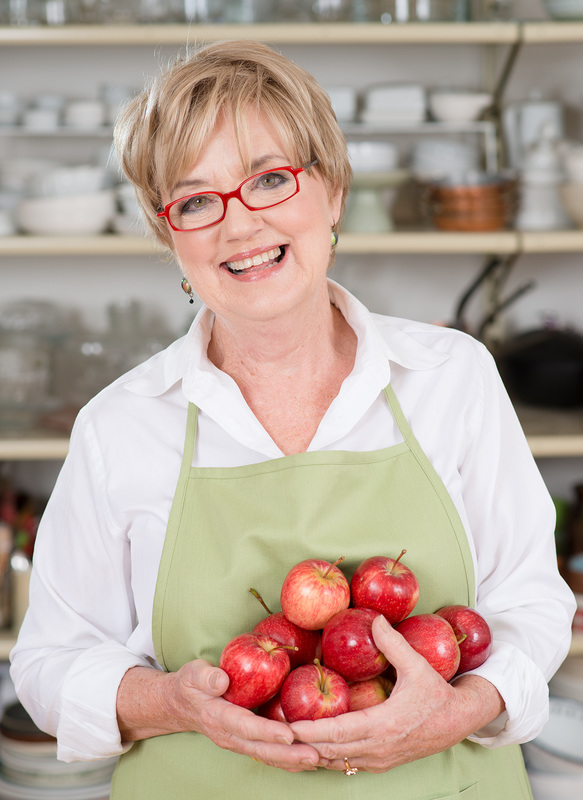 Kate McGhie, author of Apple Blossom Pie - image courtesy Murdoch Books