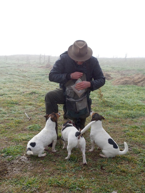 Treats for the truffle dogs  at Turalla Truffles near Bungendore - photo Liz Posmyk, Good Things