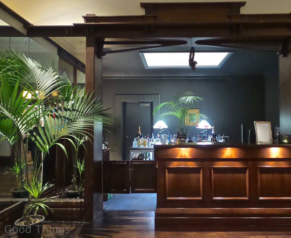 The Bar Area at The Robertson Hotel