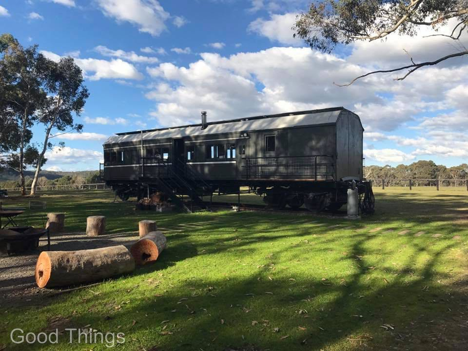 Carriage 343 at the spectacular Redleaf Farm Fitzroy Falls - Liz Posmyk Good Things