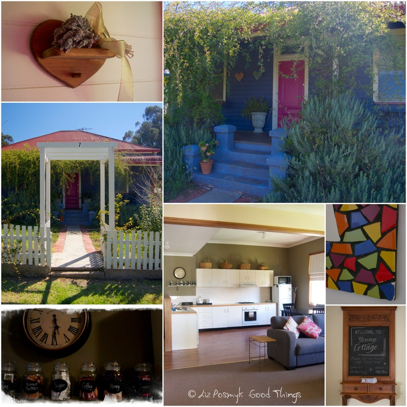 Collage from Young Cottage, NSW