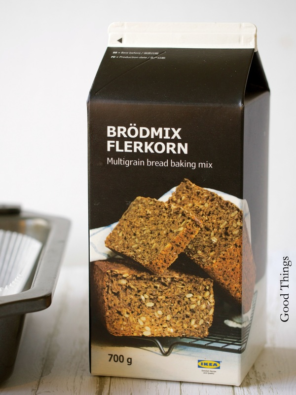 Road test and review IKEA brödmix flerkorn multigrain bread baking mix 1 Good Things