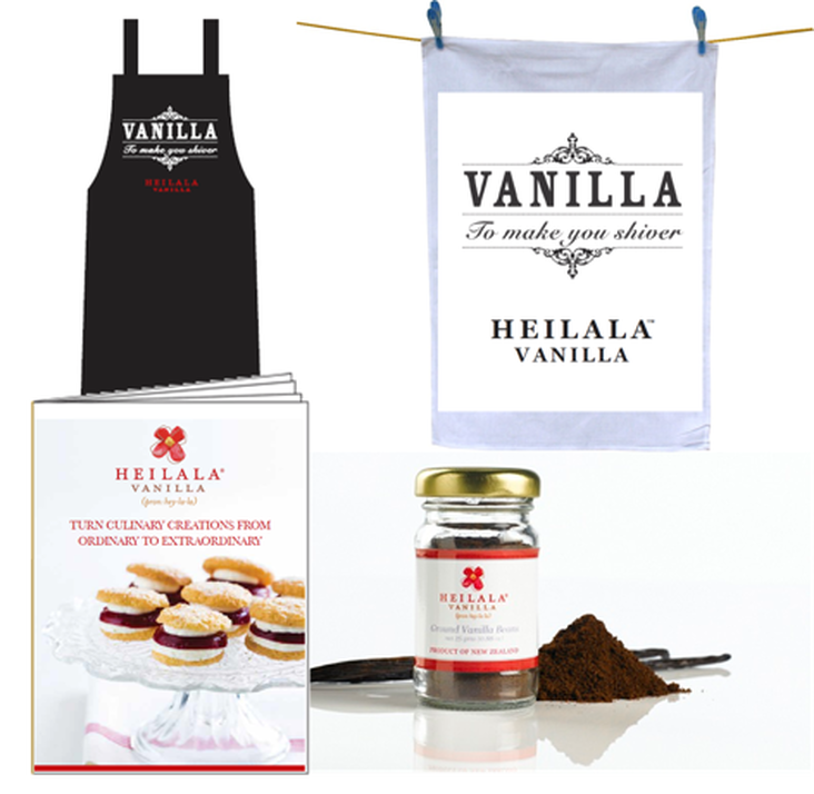 Heilala Vanilla prize pack on Good Things