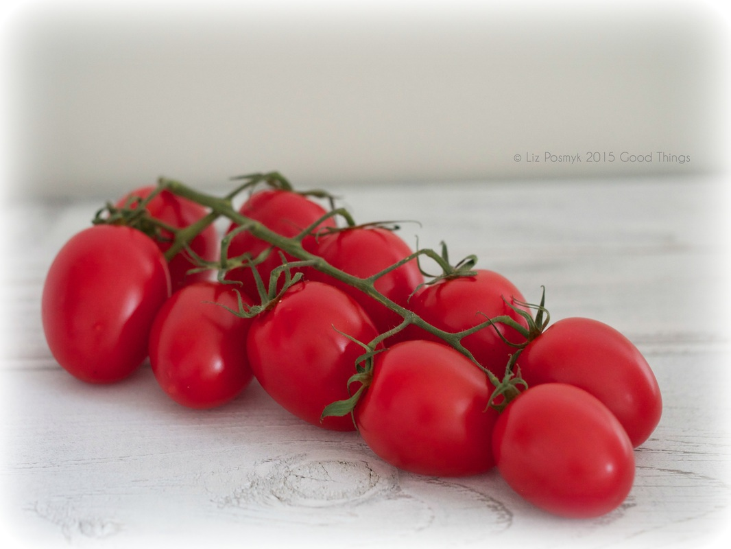 Vine ripened baby tomatoes by Good Things