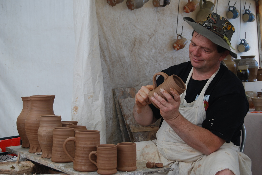 Potter at the Murrumbateman Field Days