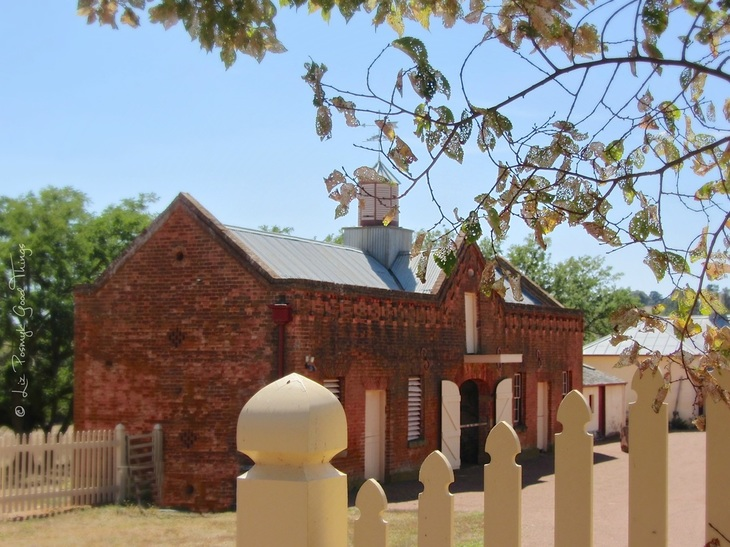 The historic stables at Cooma Cottage, Yass