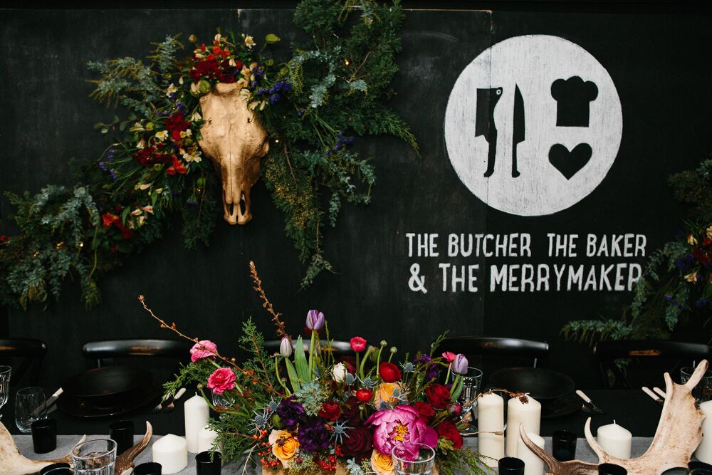 The Butcher, the Baker & the Merrymaker - Pialligo Estate and Alexandra Orme Photography
