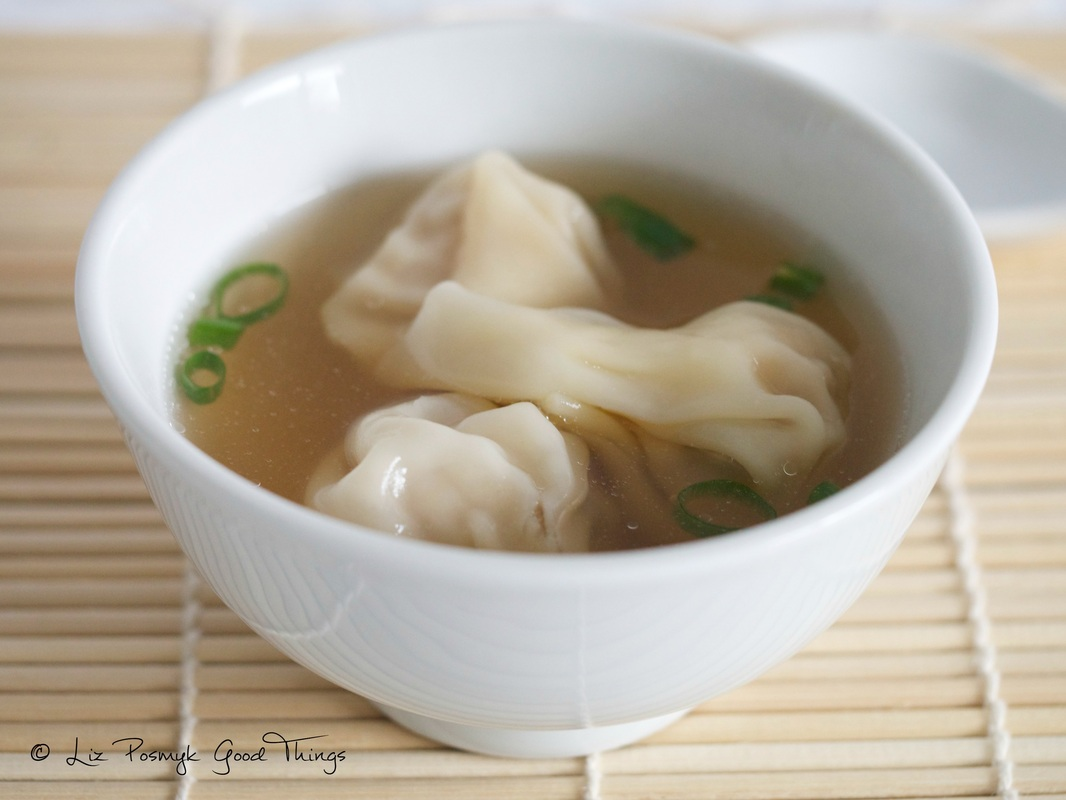 Wonton 'short' soup by Good Things (2)