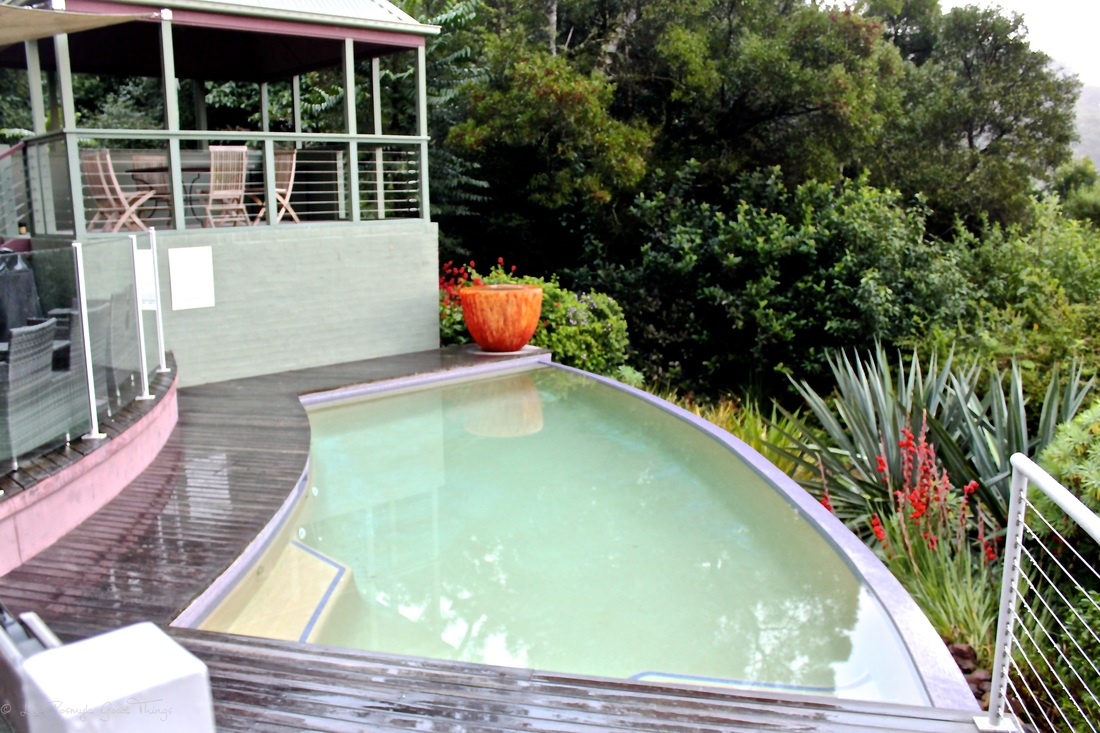 The pool at Sahali - a luxury self contained holiday home in the Kangaroo Valley New South Wales