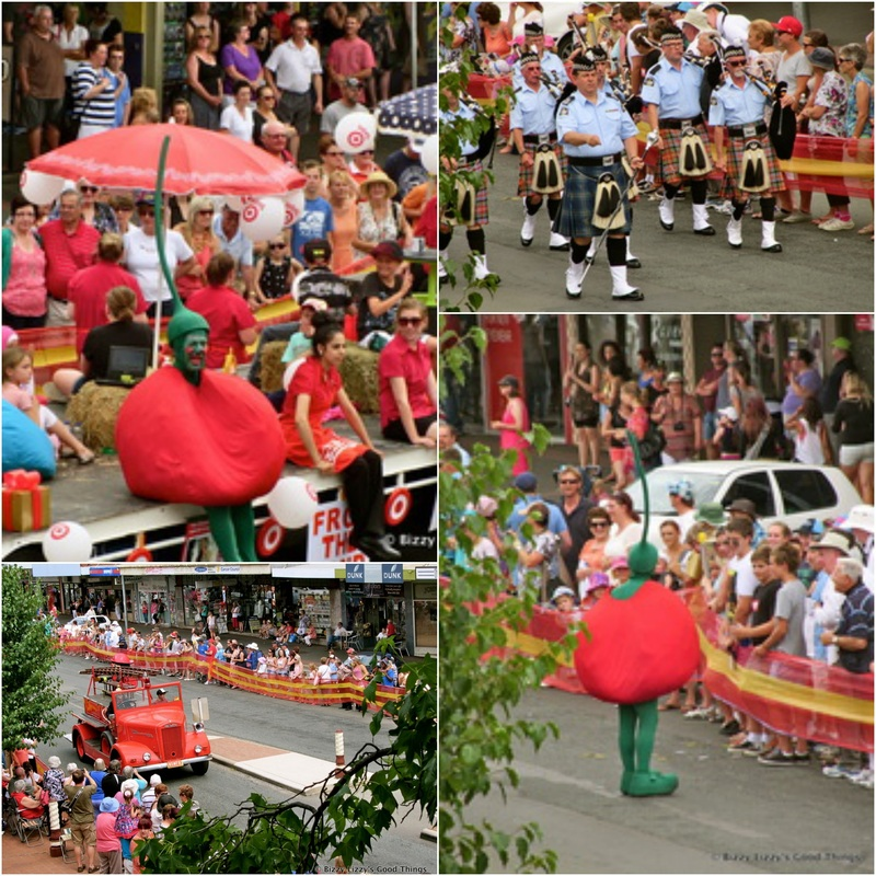 Cherry Festival Parade in Young NSW