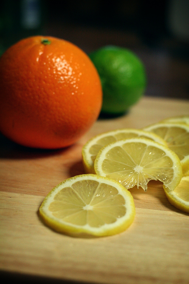On oranges, lemons and limes