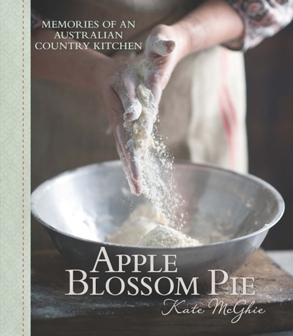 Apple Blossom Pie by Kate McGhie - cover image courtesy Murdoch Books