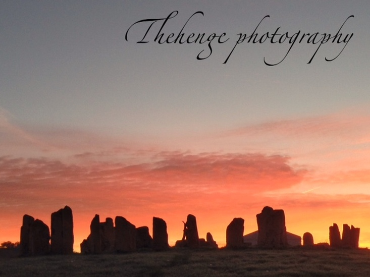 Sunset at The Henge