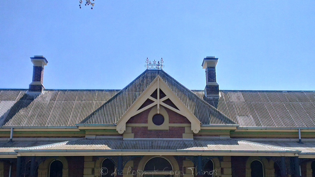 The Old Railway Station in Young NSW, now the Visitor Information Centre
