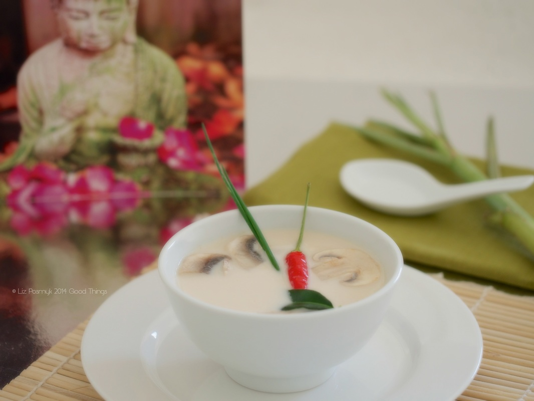 Tom Kha Gai - chicken and coconut milk soup