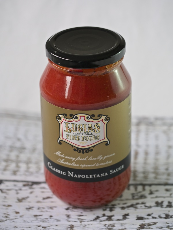 Lucias Traditional fine foods napoletana sauce © Good Things