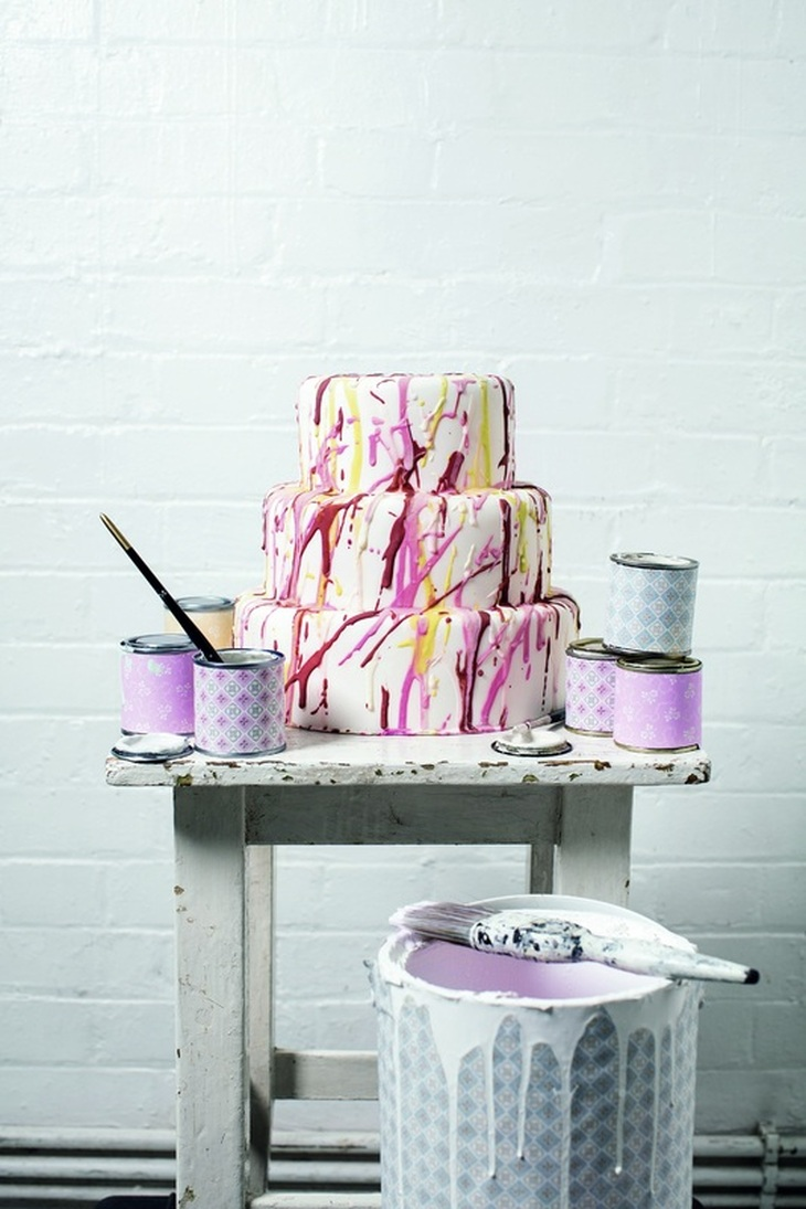 Splatter Cake by Natasha Collins
