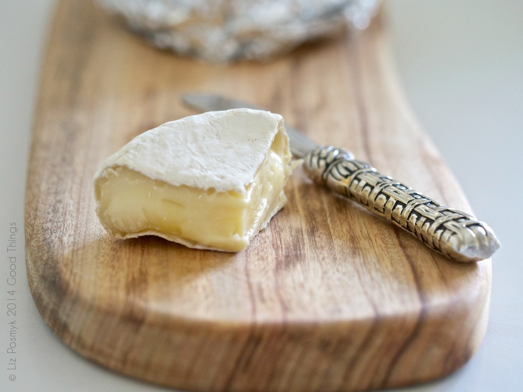 Handmade Camembert-style cheese by Good Things