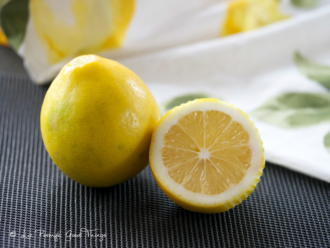 Home grown lemons by Liz Posmyk Good Things