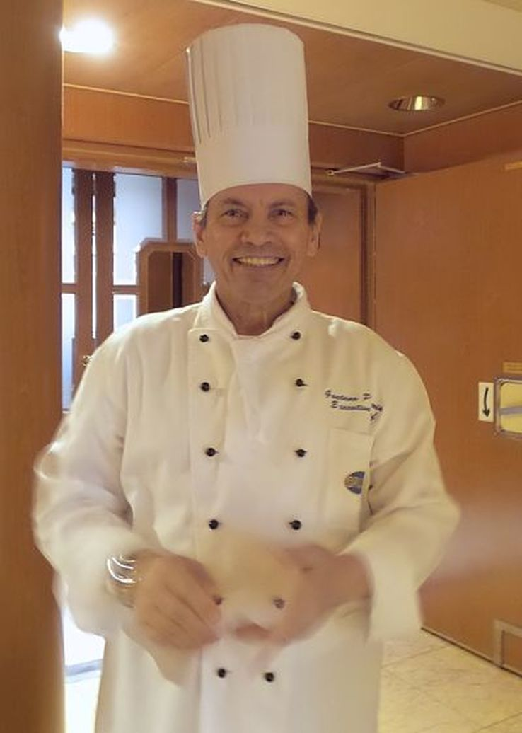 Golden Princess Executive Chef, Gaetano Patamia - photo Liz Posmyk, Good Things