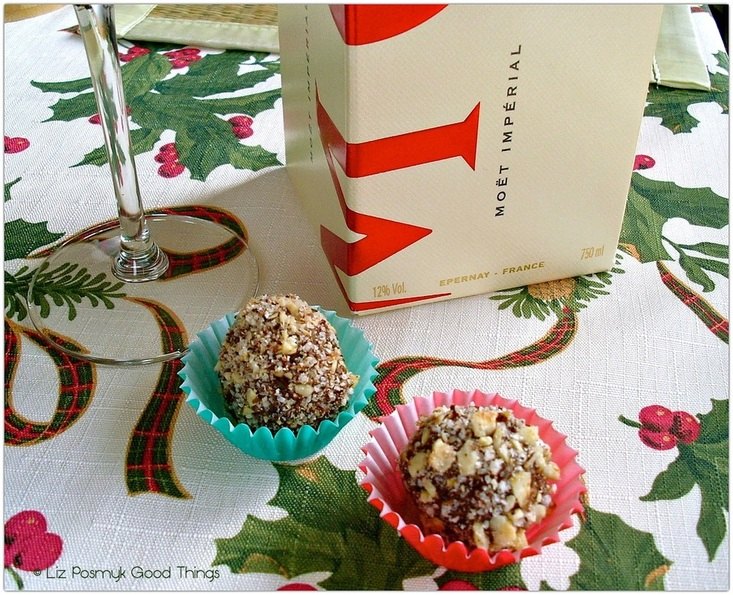 Chocolate Hazelnut Truffles - edible gifts