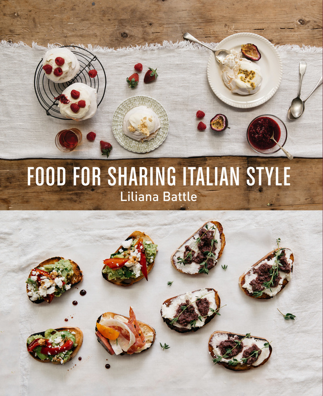 Food for Sharing Italian Style by Liliana Battle