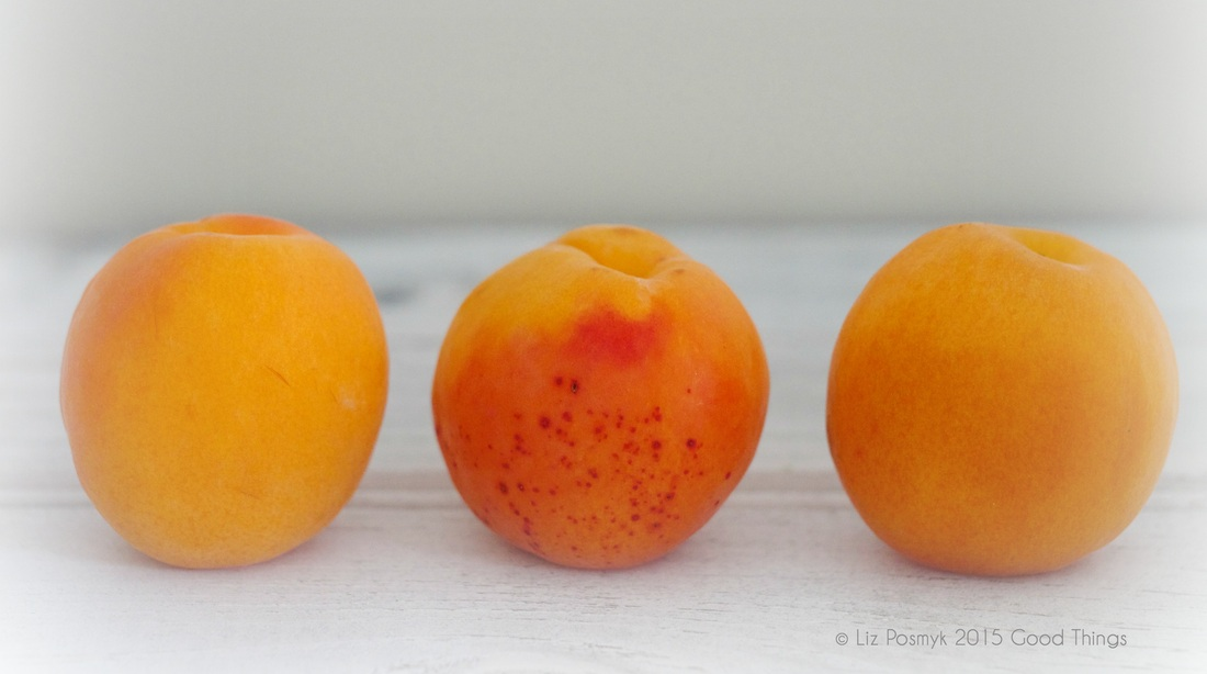 Plump juicy apricots from Aldi, by Good Things