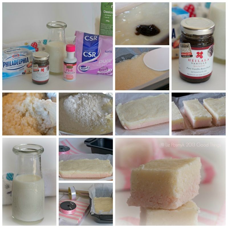 Collage Creamy Coconut Ice