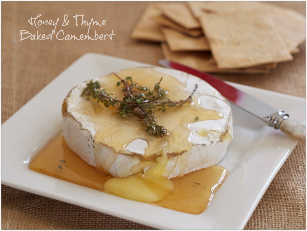 Honey and Thyme Baked Camembert