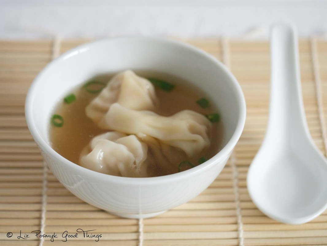 Wonton 'short' soup by Good Things
