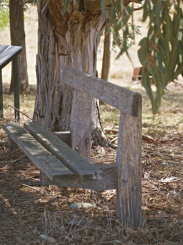 Timber bench near the Hume and Hovell walking track - Liz Posmyk Good Things