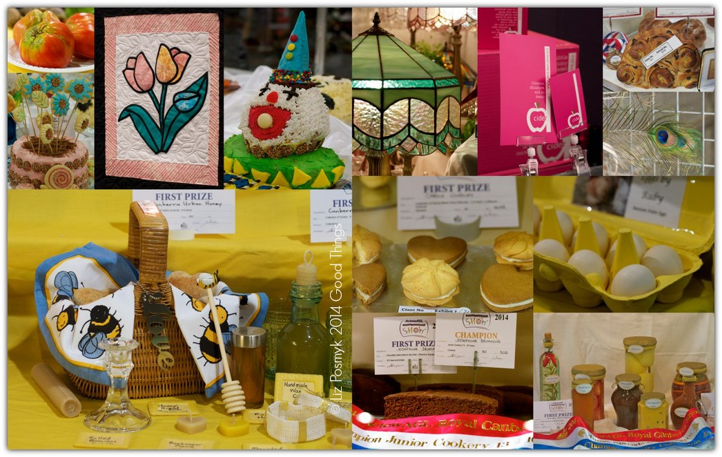 Postcards and Morsels 2014 Royal Canberra Show by Liz Posmyk