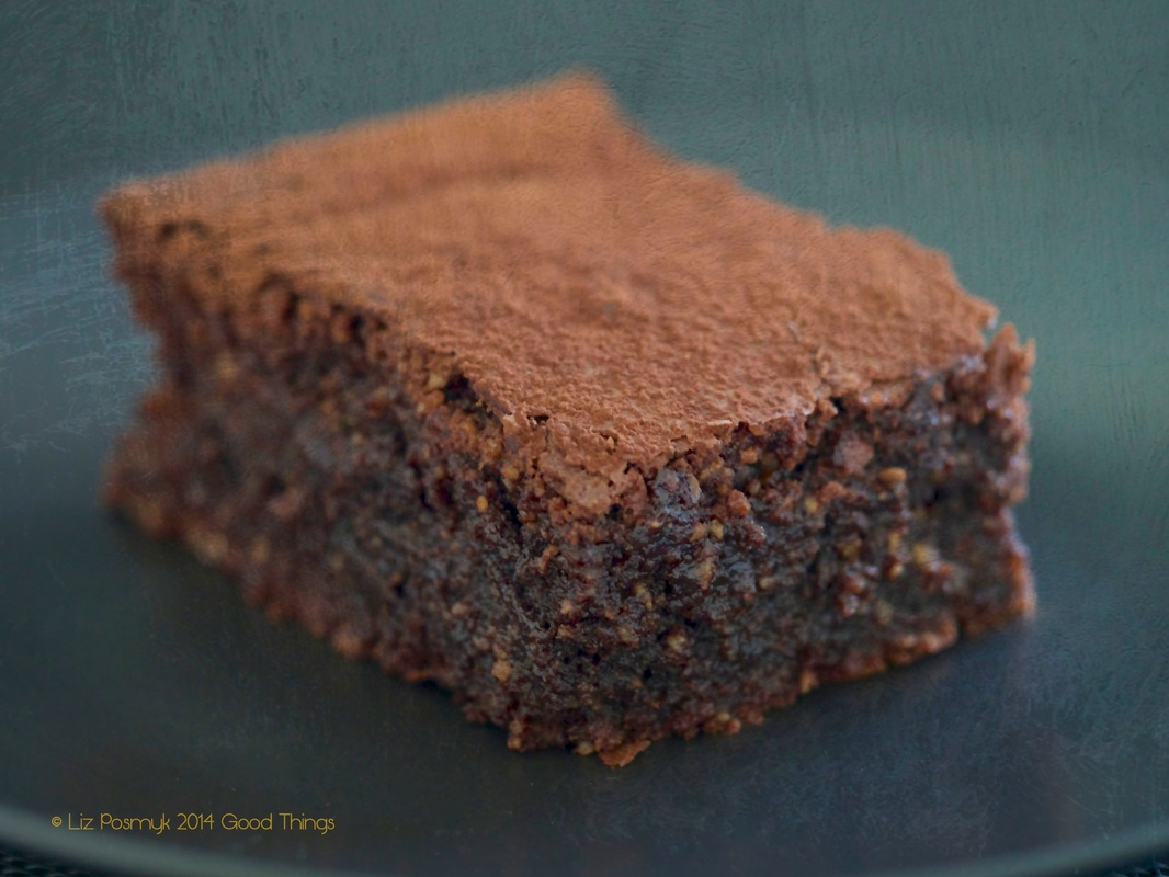 Best ever chocolate and hazelnut fudge brownies - Haigh's Chocolates recipe - image by Liz Posmyk Good Things