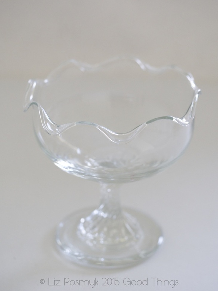 Vintage compote dish by Good Things