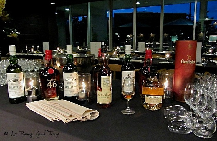 The Whiskeys served at the Dinner with Whisky in Canberra - image by Liz Posmyk Good Things