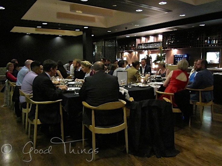 Diners enjoy the Dinner with Whisky at the Hotel Realm in Canberra - image by Liz Posmyk Good Things