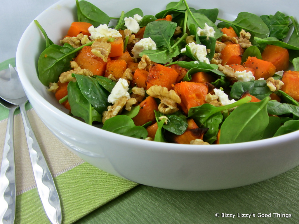 pumpkin spinach salad roast pumpkin spinach and honey roasted pumpkin ...