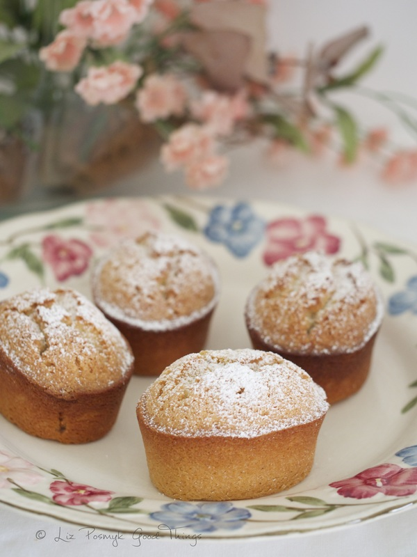 Almond friands by Liz Posmyk Good Things