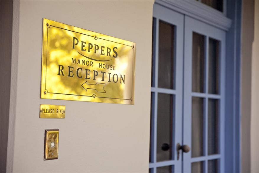 Peppers Manor House Reception