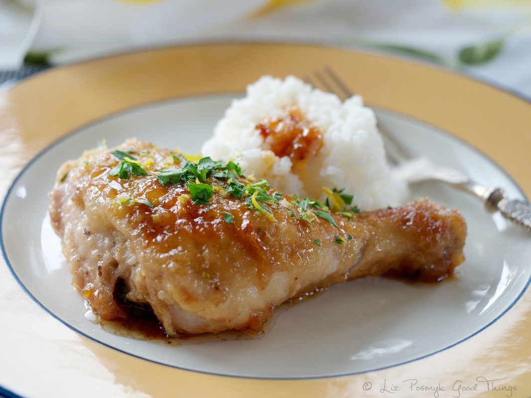 Honey and lemon chicken by Liz Posmyk Good Things