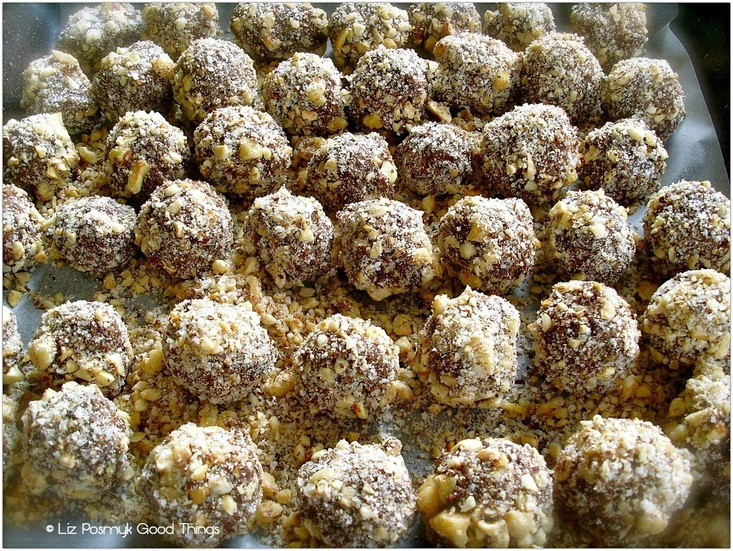 Make plenty of my chocolate hazelnut truffles