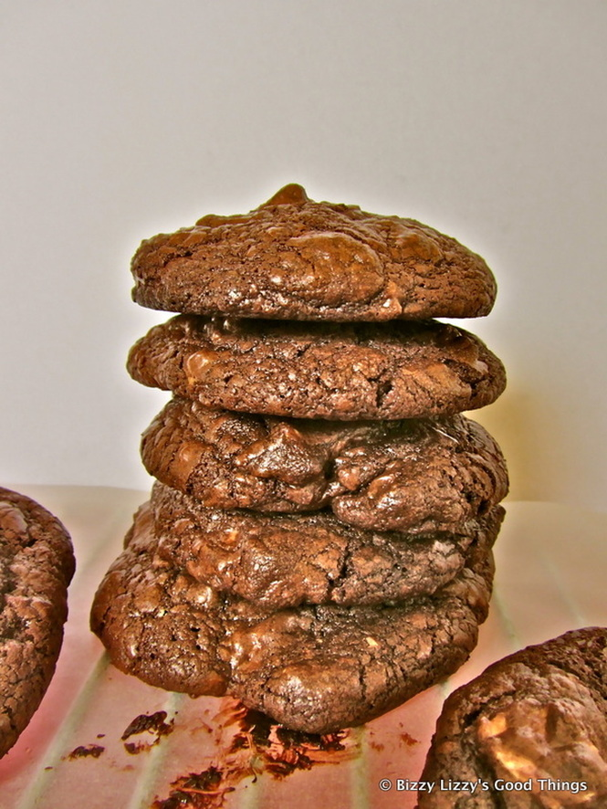 Triple choc chunky cookies by Liz Posmyk, Good Things