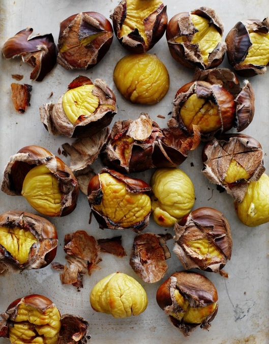 Roasted chestnuts - image courtesy Chestnuts Australia