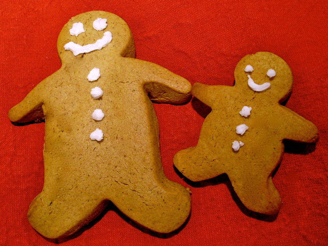 Gingerbread men by Liz Posmyk, Good Things