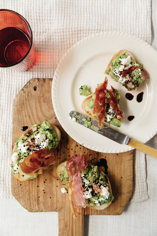 Food for Sharing Italian Style by Liliana Battle - avocado smash