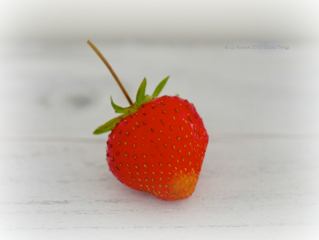 Strawberry from the kitchen garden by Good Things