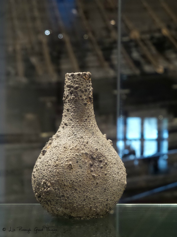 Pitcher found on the Vasa, which sank in the 1600s. Photo by Liz Posmyk, Good Things