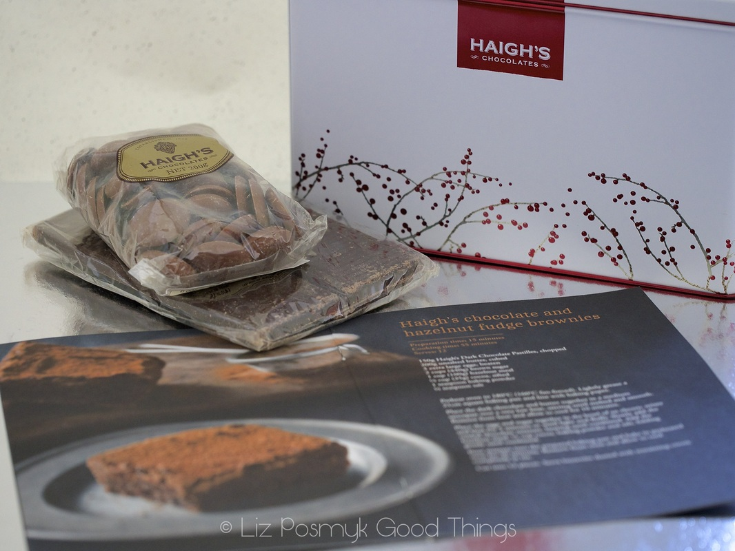 Gift pack - Best ever chocolate and hazelnut fudge brownies - Haigh's Chocolates recipe